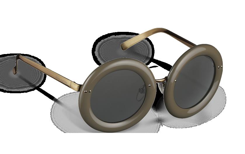 3621d3195e3 ... Louis Vuitton Nelly Plum sunglasses in Taupe