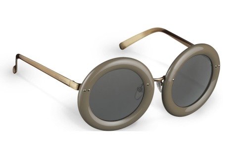 Louis Vuitton Nelly Plum sunglasses in Taupe
