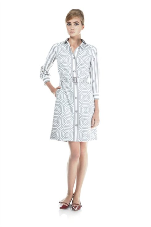 Marc Jacobs Longsleeve Shirt Dress with Belt