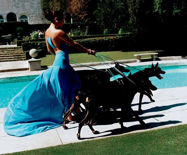 Jennifer Lopez by Mario Testino