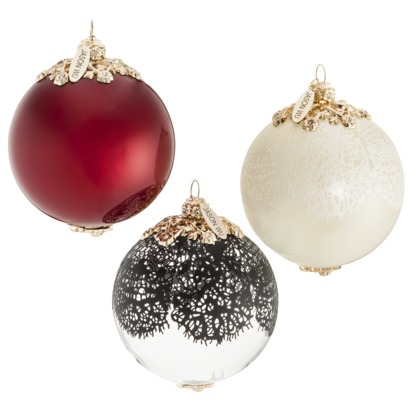 Jason Wu Ornaments - Set of 3