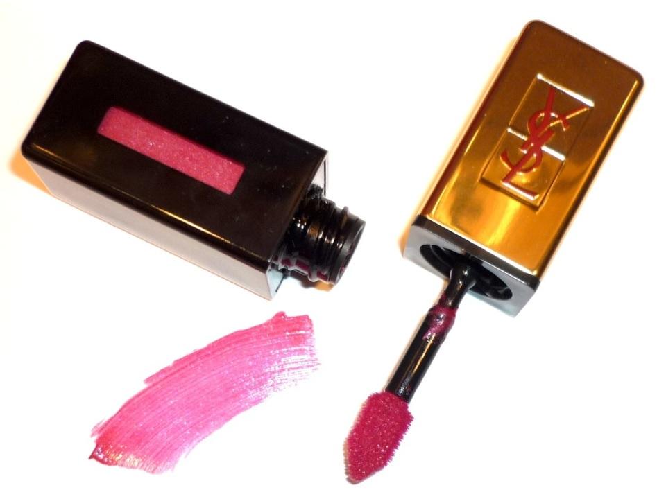 YSL Glossy Stain #13 Rose Tempura