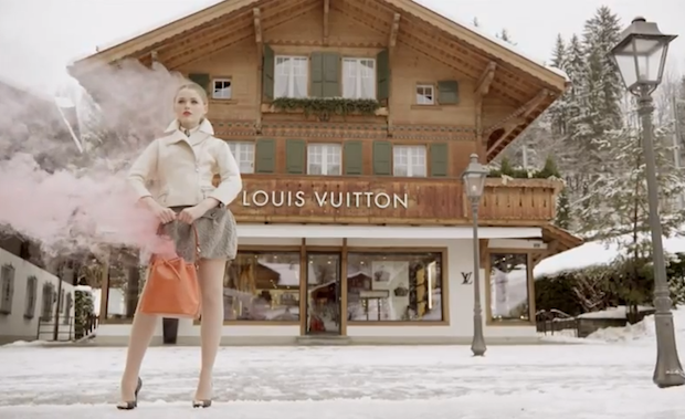 Louis Vuitton Gstaad resort