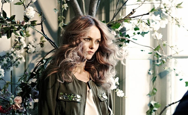 Vanessa Paradis for the 2013 H&M Conscious Collection