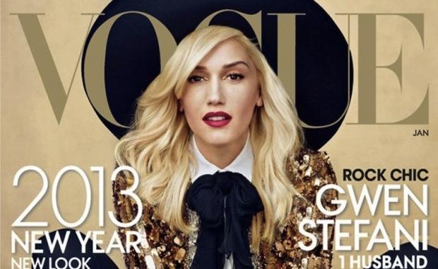 Gwen Stefani in Vogue Magazine January 2013