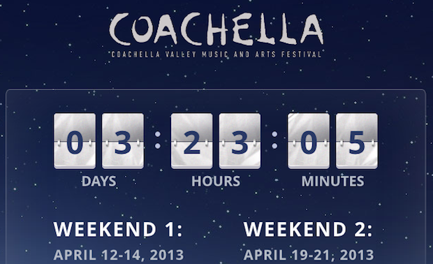 2013 Coachella Lineup Announced