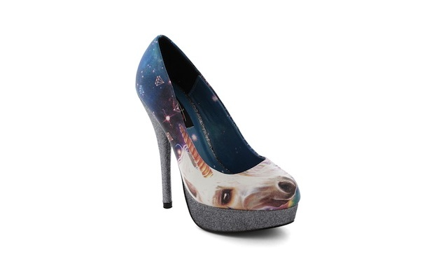 Modcloth Whimsical Whinny Unicorn Heel