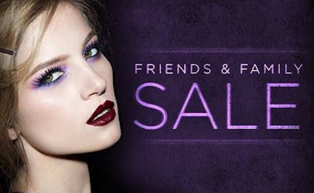 Urban Decay Friends and Family Sale 2013