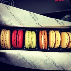 Macarons from Bisou Ciao New York City