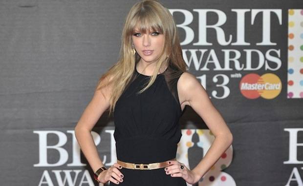 Taylor Swift at the 2013 Brit Awards (Brits)