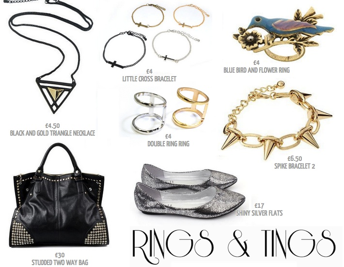 Rings & Tings fast fashion trendy jewelry and accessories