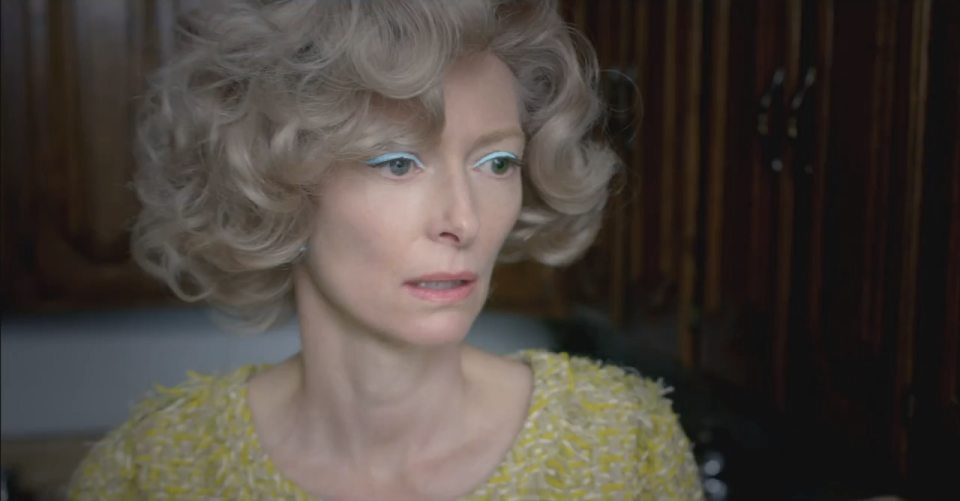 Tilda Swinton stars in David Bowie's music video for The Stars Are Out Tonight 2013