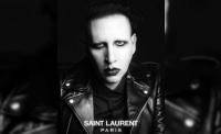 Marilyn Manson for Saint Laurent Paris 2013 ad campaign