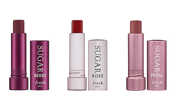 Fresh Sugar Lip Treatment in berry, rose, and petal